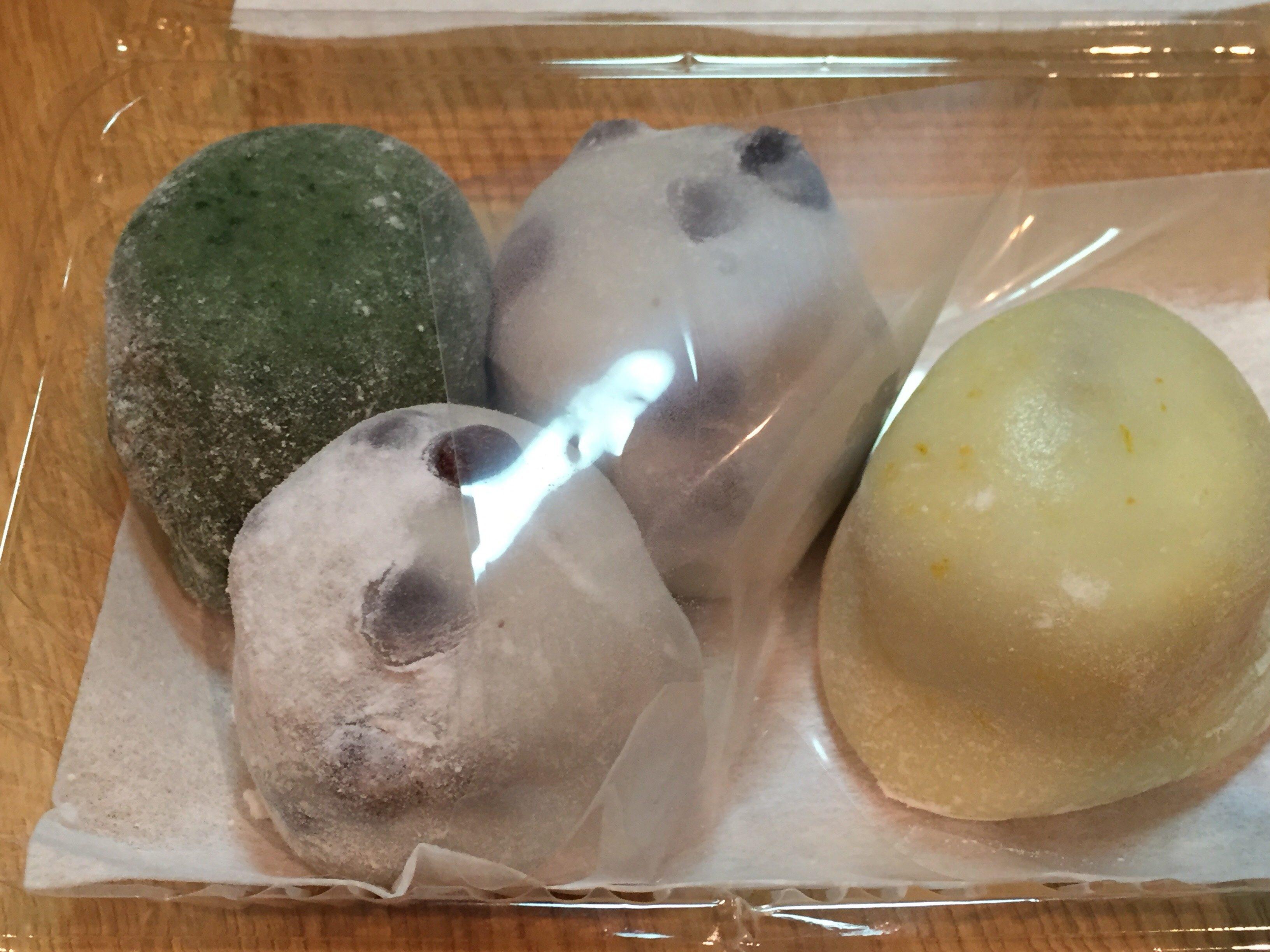 出町ふたば 豆餅 冬の季節限定 柚子 よもぎ