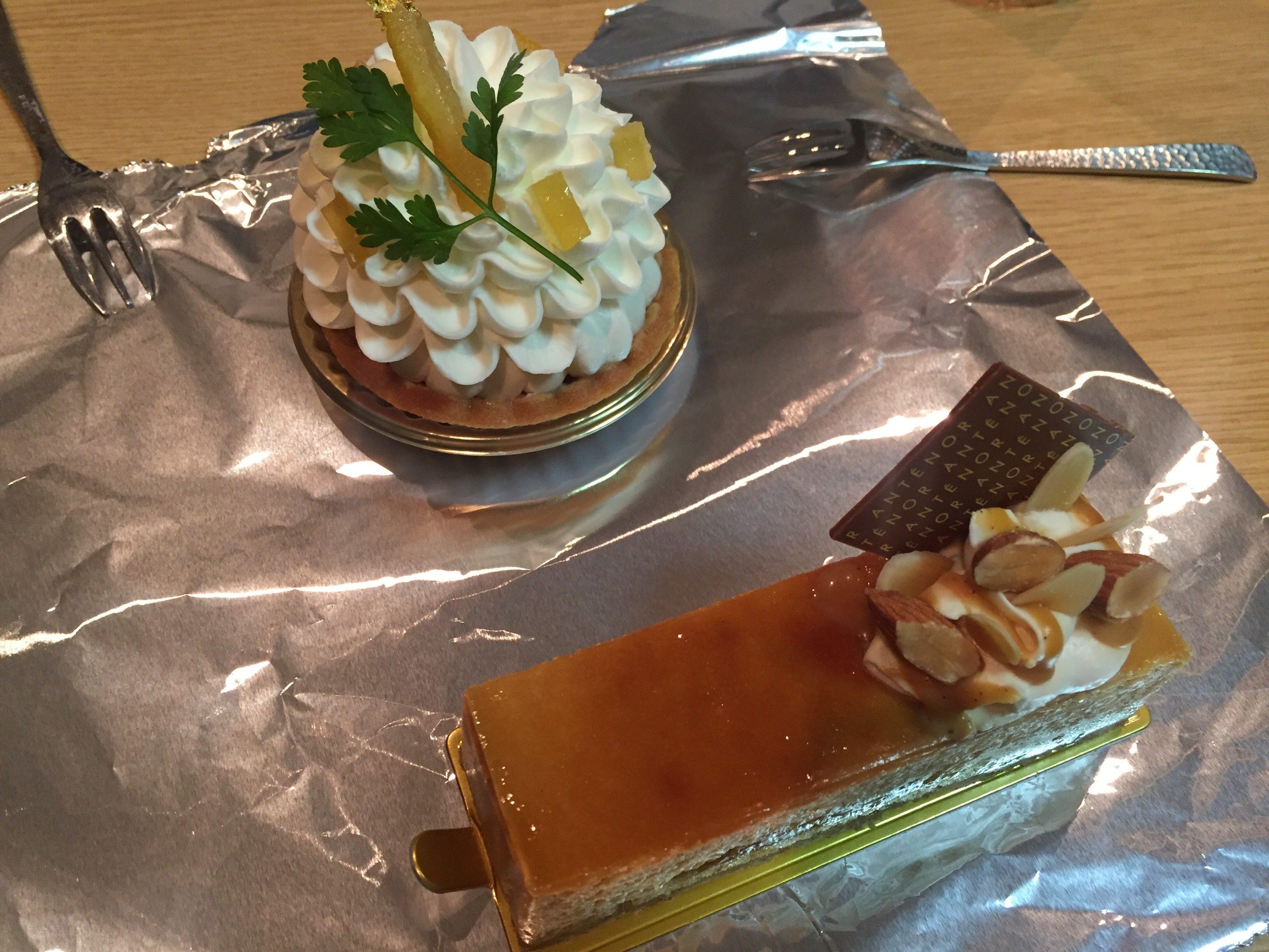 大丸京都 アンテノール ケーキ