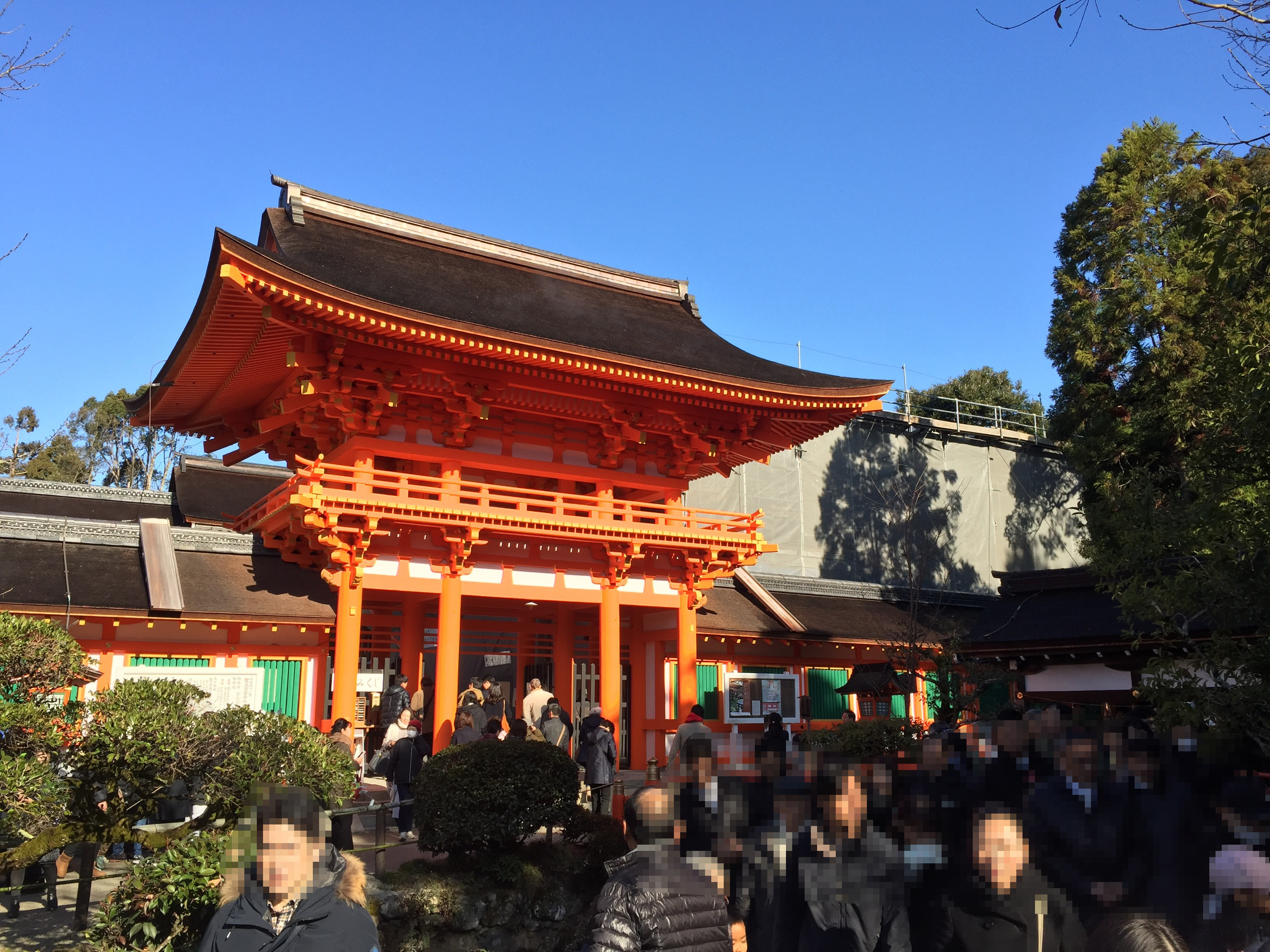 上賀茂神社 初詣 元旦 2019年