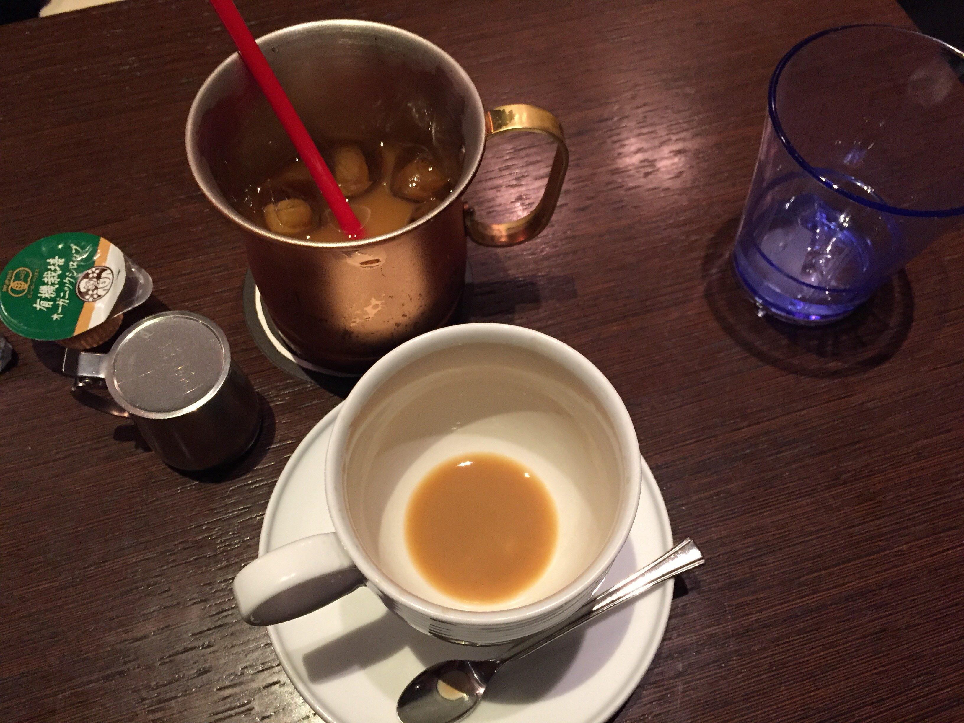 生きている珈琲 コーヒー
