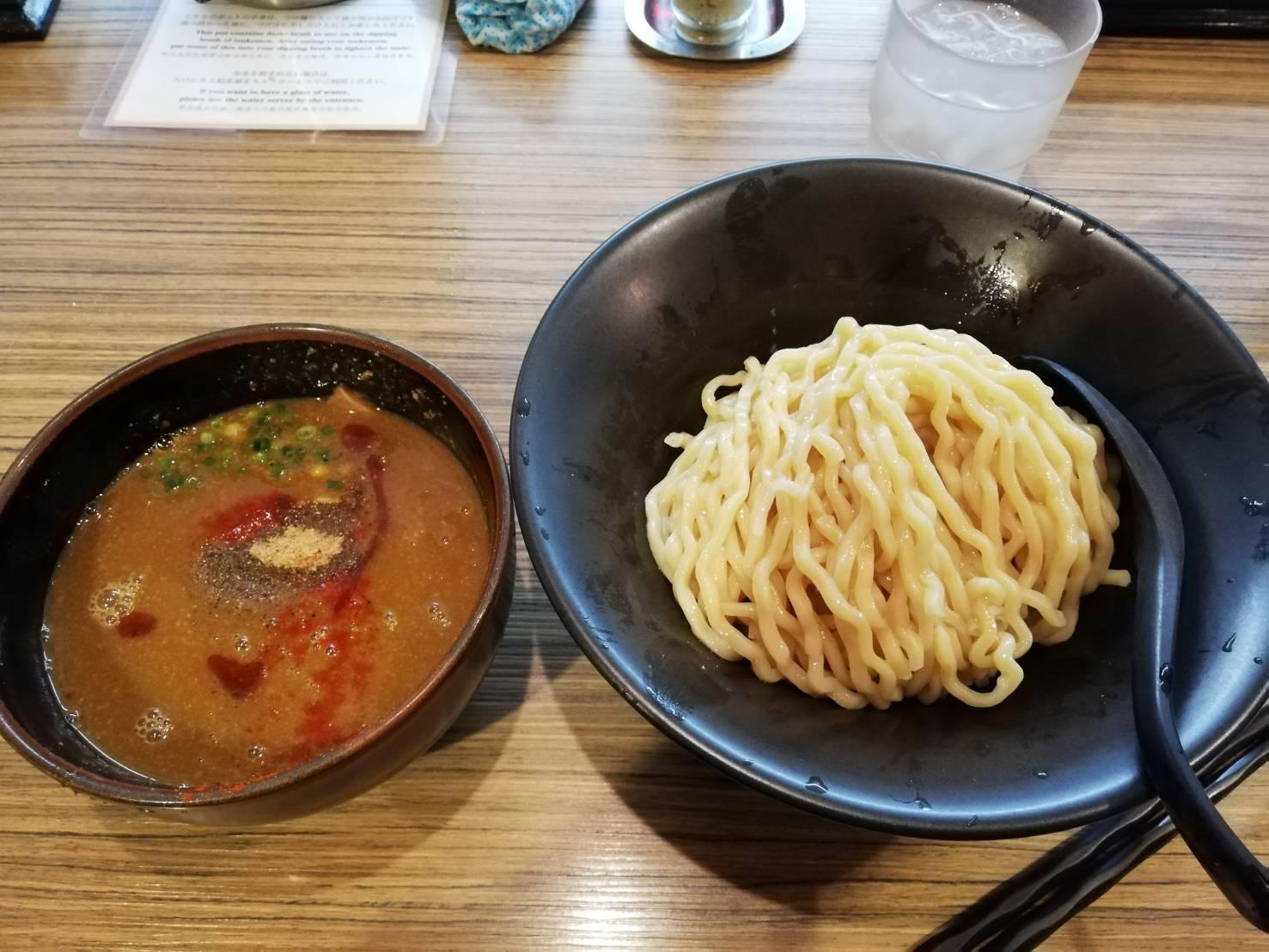 吟醸らーめん久保田 味噌つけ麺