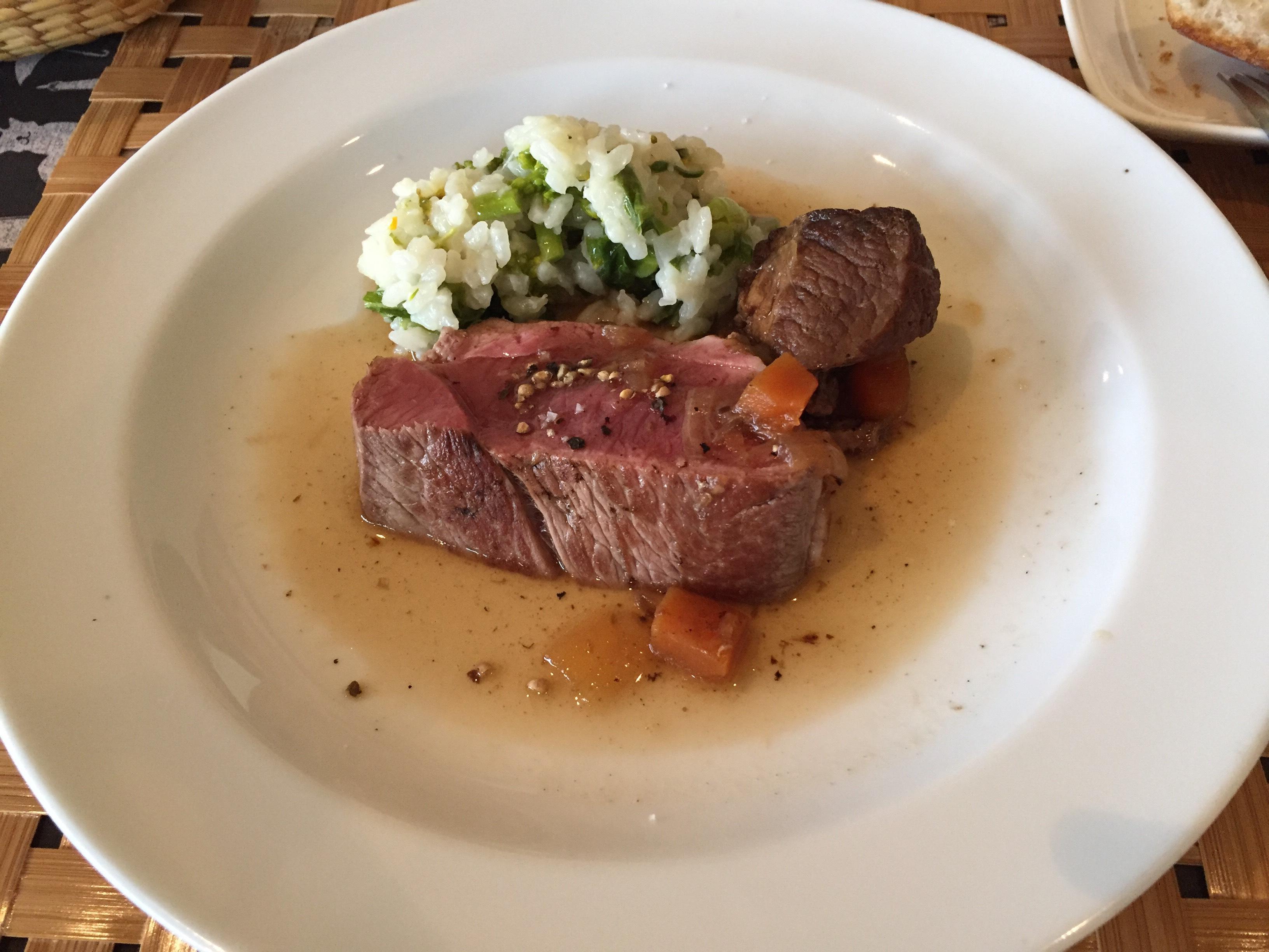 食堂リヴゴーシュ 岩倉 フレンチ 肉料理
