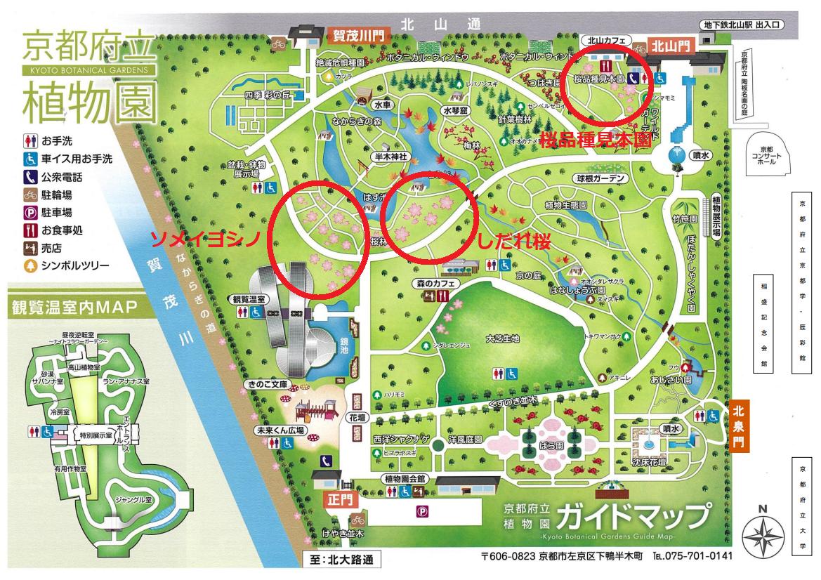京都府立植物園 マップ