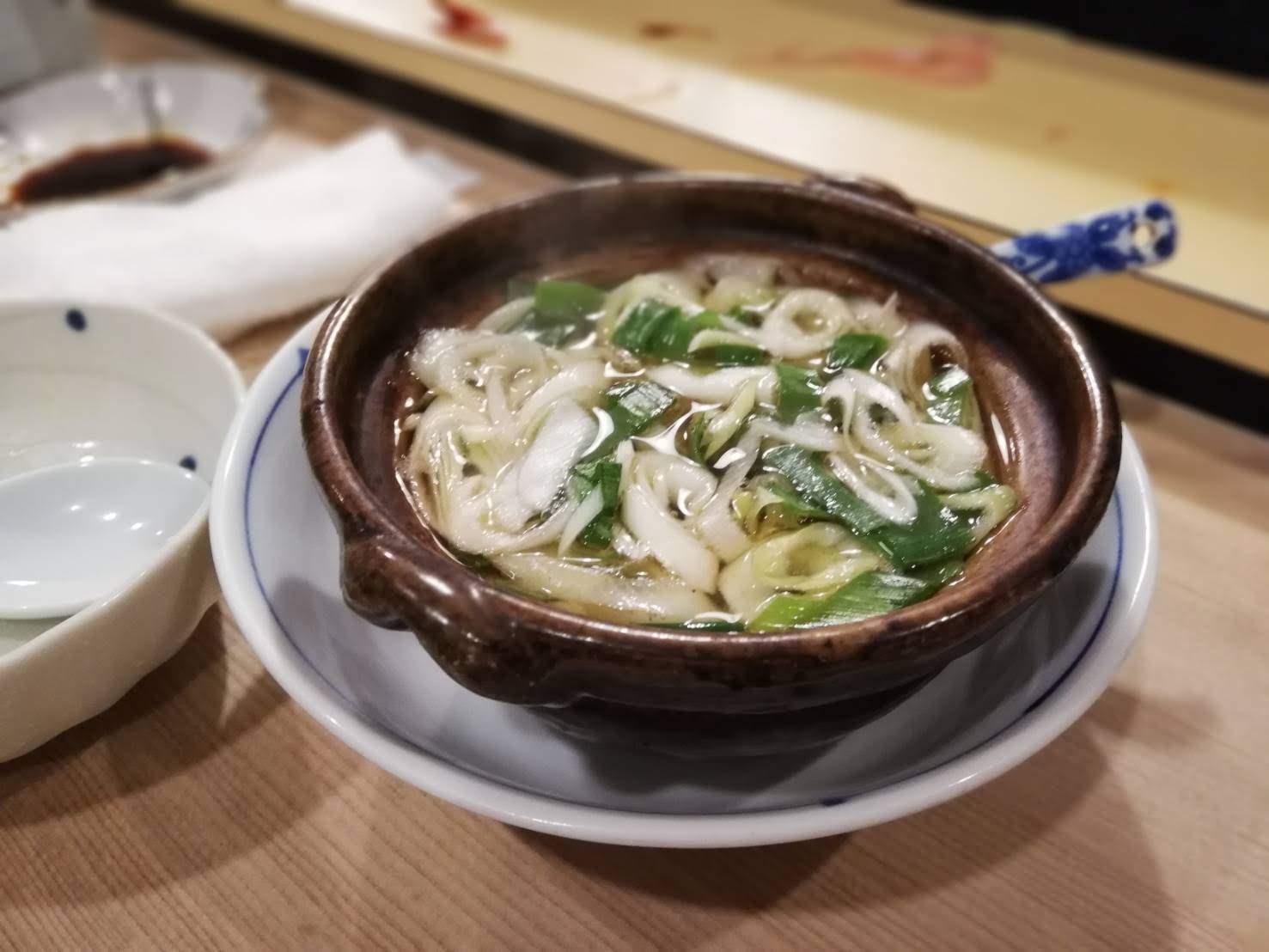 河原町 鯛寿司 ねぎま汁
