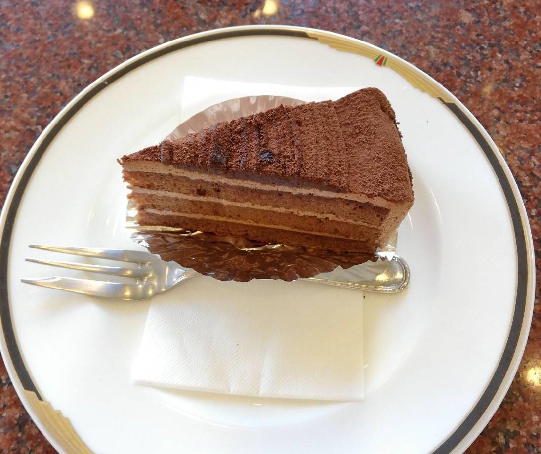 ワールドコーヒーショップ 白川本店 ケーキ
